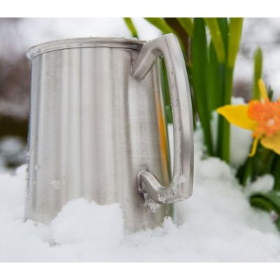 Plain Satin Finish Tankard