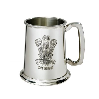 Prince of Wales Feathers Tankard