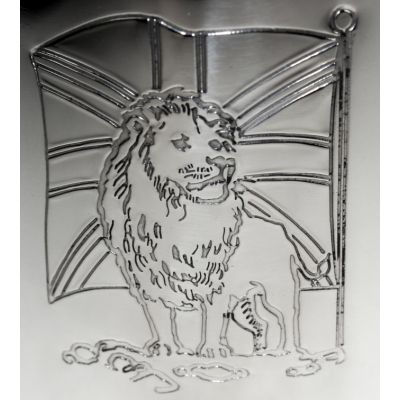 Union Jack Lion Handle Tankard