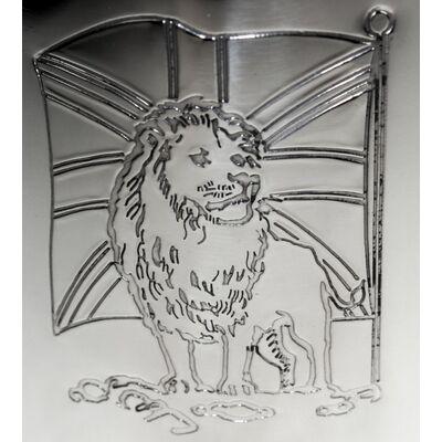 Union Jack Lion Handle Tankard