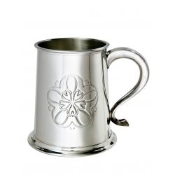 Yorkshire Rose Pewter Tankard