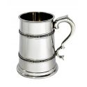 Celtic Double Band Pewter Tankard TWO Pint
