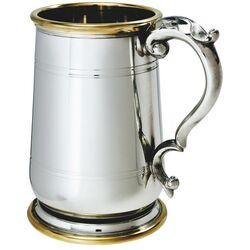 Hallam Pewter & Brass Tankard