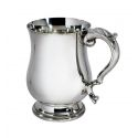 Heavy Georgian Pewter Tankard