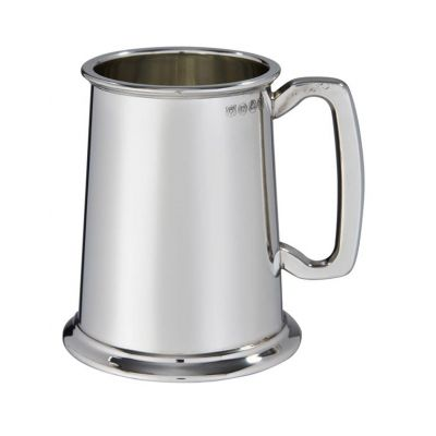 Plain Heavy Pewter Tankard