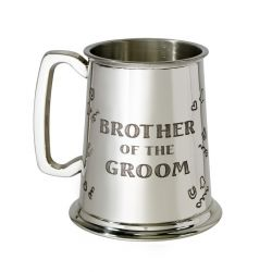 Brother of the Groom Tankard