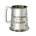 Brother of the Groom Pewter Tankard