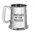 Father of the Bride Pewter Tankard