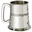 Groomsman Pewter Tankard
