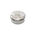 Acanthus Small Pewter Trinket Box