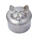 Cast Cat Pewter Trinket Box