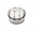 Knife Fork Spoon Small Pewter Trinket box