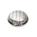 Knife Fork Spoon Pewter Trinket Box