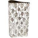 Leaf Pewter Bud Vase