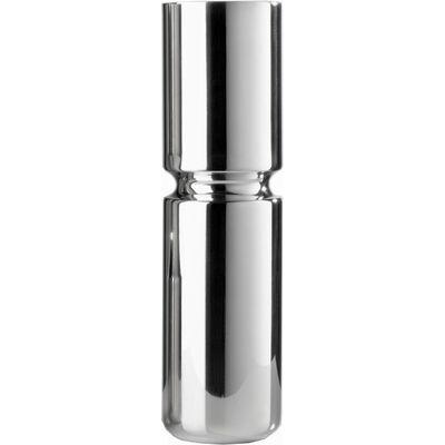 Slim Groove Pewter Vase