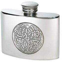 Celtic Circle Kidney Flask 2oz