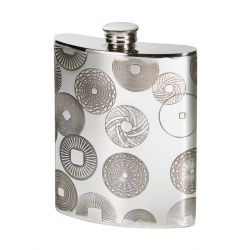 Millstones Kidney Hip Flask