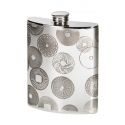 Millstones Pewter Kidney Hip Flask 6oz