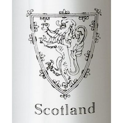 Lion Of Scotland Kidney Hip Flask