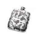 Paisley Pattern Pocket Flask