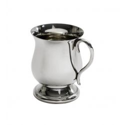 Georgian Pewter Baby Mug