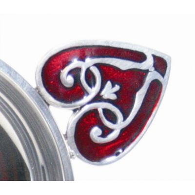 Red Heart Highlands Pewter Quaich