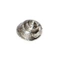Periwinkle Pewter Shell Ornament