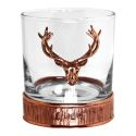 Majestic Stag Copper Whiskey Glass