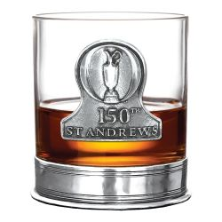St Andrew's Golf Open 150th Whiskey Glass