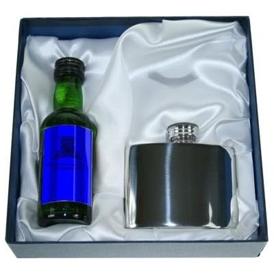 Box To Fit Flask & Miniature