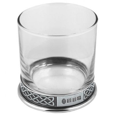 Celtic Whiskey Glass