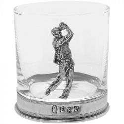 Golf  Whiskey Glass