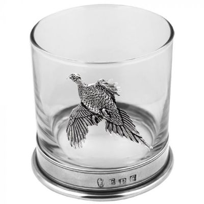 Pheasant Whiskey Glass