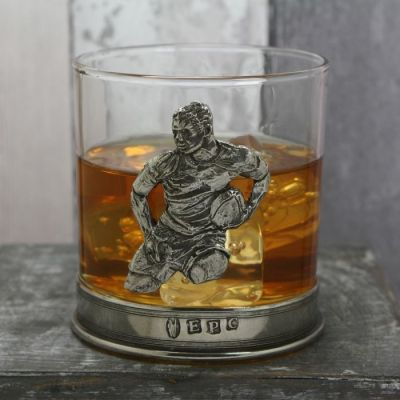 Rugby Whiskey Glass