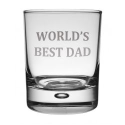 Best Dad Whisky Glass
