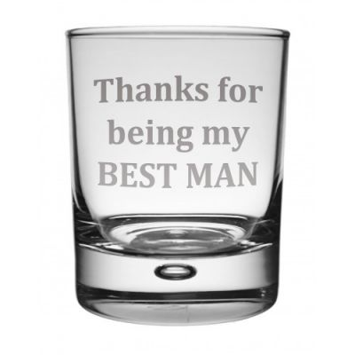 Best Man Whisky Glass