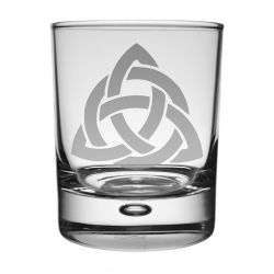 Celtic Interlace Whisky Glass
