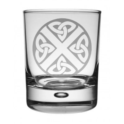 Celtic Saltire Whisky Glass