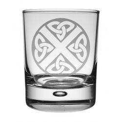 Celtic Saltire Whisky Glass