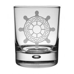 Ships Wheel Whisky Glass