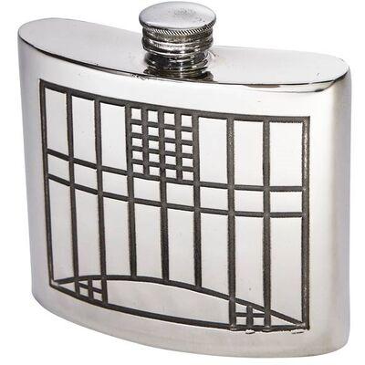 Charles Rennie Mackintosh Kidney Hip Flask