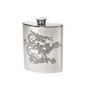 Chinese Dragon Kidney Hip Flask