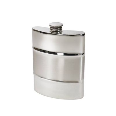 Part Satin Kidney Hip Flask