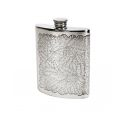 Tiger Leaf Kidney Hip Flask