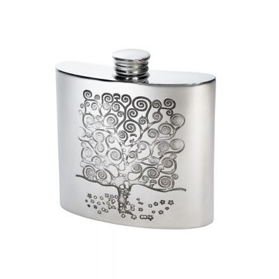 Tree of Life Kidney Hip Flask 4oz