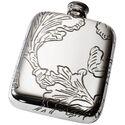 Acanthus Pewter Pocket Flask