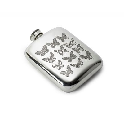 Butterfly Pocket Flask