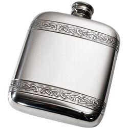 Celtic Bands Pocket Flask
