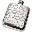 Celtic Knot Pewter Pocket Flask