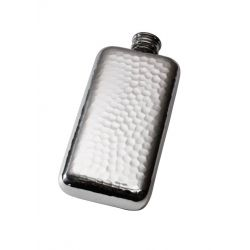 Hammered Pocket Flask 3oz